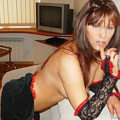 Pantyhose-Stockings stripping.