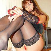 Nylons strap stripping hot.