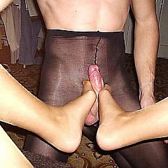 Pantyhose-Stockings fuck.