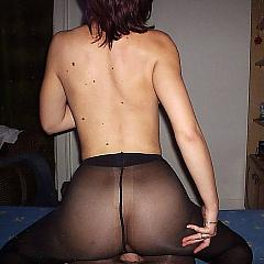 Pantyhose-Stockings pair.