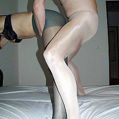 Pantyhose-Stockings boy.