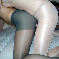 Pantyhose-Stockings fuck.