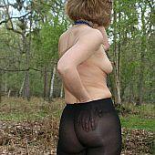 Hose caught outdoors amateur.