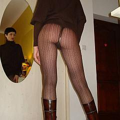 Pantyhose-Stockings non-professional.