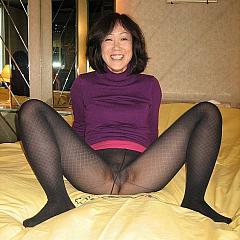 Pantyhose-Stockings dilettante.