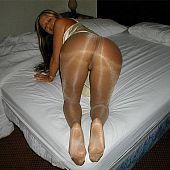 Pantyhose.