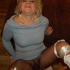 Pantyhose-Stockings glad.