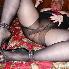 Pantyhose-Stockings shows.