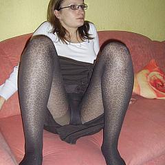 Pantyhose-Stockings hose.