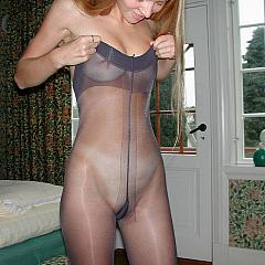 Pantyhose-Stockings cutie.