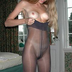 Pantyhose-Stockings teases.