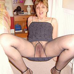 Pantyhose-Stockings legs.