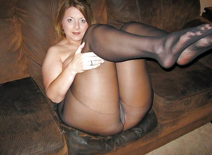Firmly convinced, housewife handjob nylon