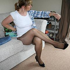 Pantyhose-Stockings collection.