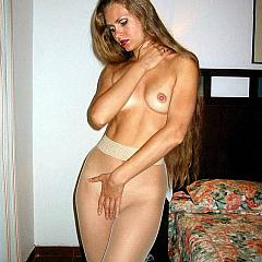 Pantyhose-Stockings dilettante.