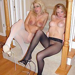 Pantyhose-Stockings darksome.