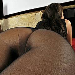 Pantyhose-Stockings seamless.