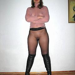 Pantyhose-Stockings darksome.