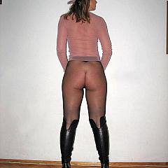 Pantyhose-Stockings high.