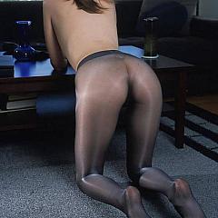 Pantyhose-Stockings cutie.