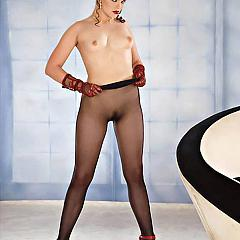 Pantyhose-Stockings coffee.