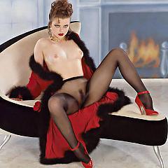 Pantyhose-Stockings lady.