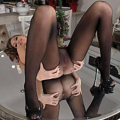 Pantyhose-Stockings beauty.